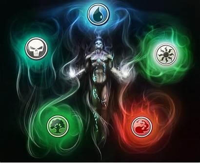 Magic Gathering Mtg Cards Mana Background Cool
