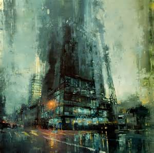 urban oil painting by jeremy mann jeff 233