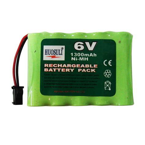 battery 6v ni rechargeable aa 1300mah pack mh rc pc power electronics super cd consumer lithium 2v 400mah jkjkjk nikko