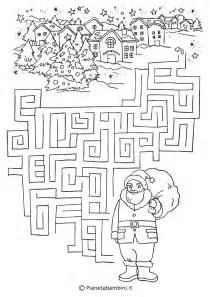 Christmas Printable Maze Puzzle