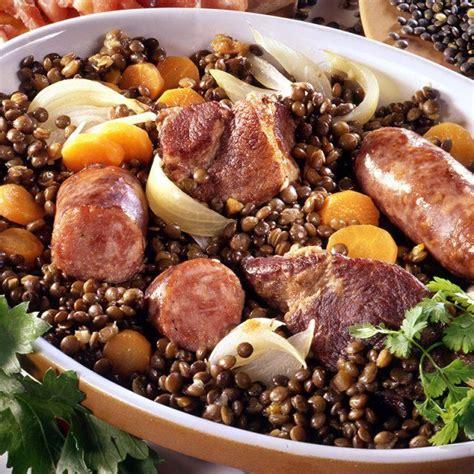 cuisine lentilles vertes best 25 lentilles aux saucisses ideas on