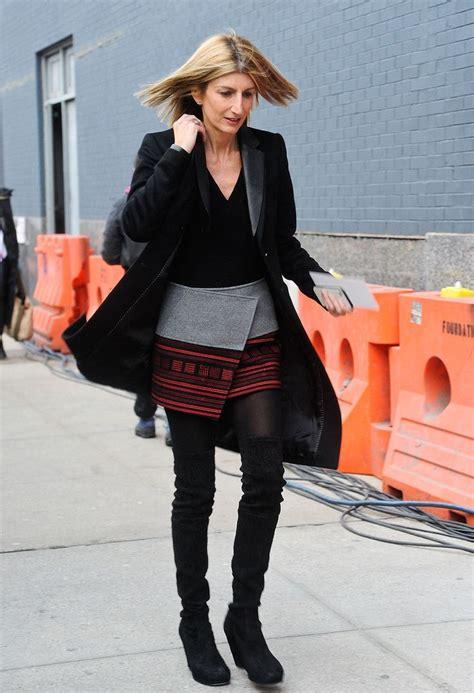 knee boots street style ideas   winter fashion