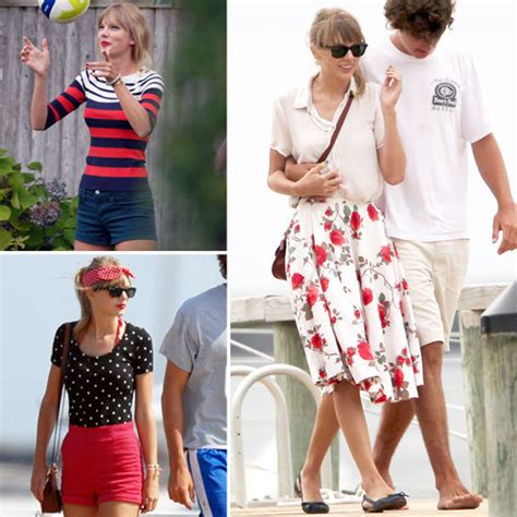 Taylor Swift Outfits In Cape Code 2012  Popsugar Fashion