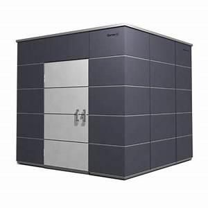 Holz Farbe Anthrazit : gartenhaus hpl metall kunststoff garten q gmbh ~ Orissabook.com Haus und Dekorationen