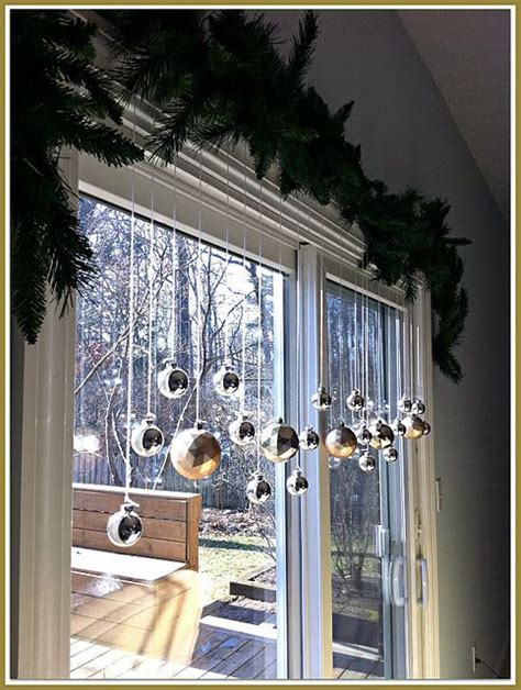 christmas window decorations ideas  pinterest