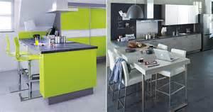quand la table de cuisine devient meuble design la cuisine a une place de plus en plus