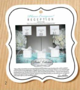 david tutera bridal collection reception picks placecards With best brand of paint for kitchen cabinets with gold letter stickers