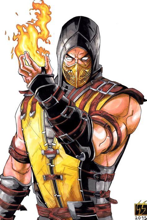 Scorpion Mortal Kombat Scorpion Mortal Kombat X Color