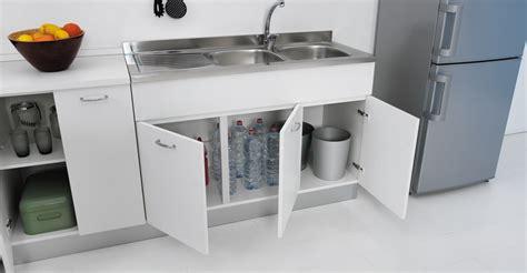 mobili lavello cucina sottolavello mobile per cucina lavello in inox 100x50