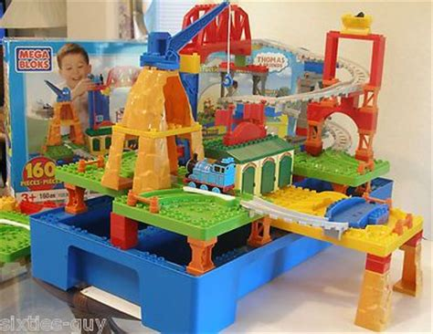 Tidmouth Sheds Mega Bloks by Spinning Sheds And Boxes On
