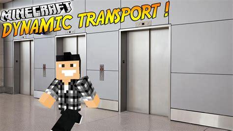 ascenseur dans minecraft  du mod