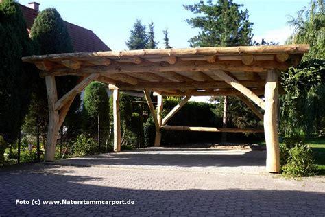 Naturstamm Carportbau  Beratung, Planung Und Montage
