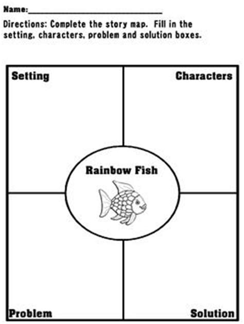 Rainbow Fish Reading and Math Packet | Literacy, Story
