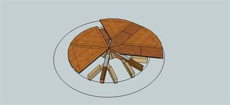 expanding round table plans looking for jupe table plans or expanding round table