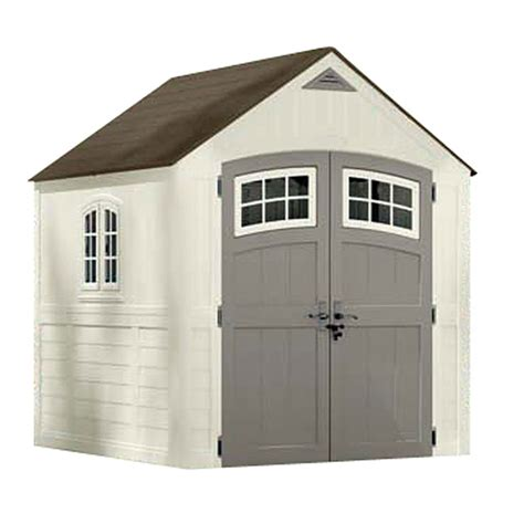 Rubbermaid Shed 7x7 Manual by Outside Storage Shed Kits Outdoor Storage Sheds Rona