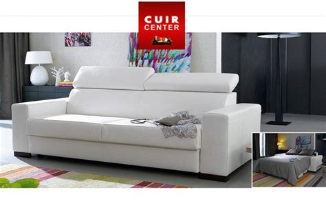 home center canapé cuir canape cuir center convertible 28 images photos canap
