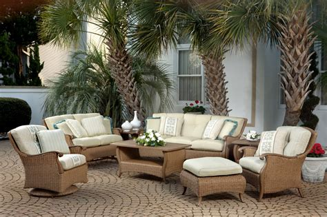 weather wicker patio furniture  dining sets