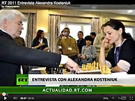 chessqueen.com - Chess Queen Alexandra Kosteniuk's Chess Blog