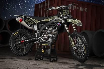 Graphics Camo Kawasaki Mx Dirt Bike Motocross