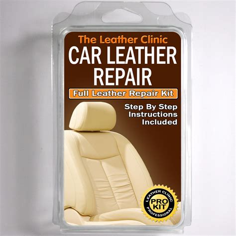 Leather Reconditioning by Volvo Leather Repair Kit For Tears Holes Scuffs And Colour