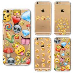 Emoji iPhone 6s Clear Phone Cases