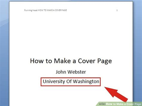 How To Make A Cover Page For A Resume 6 ways to make a cover page wikihow