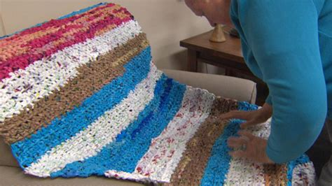 plastic bag mats crochet grocery bags into sleeping mats for boston