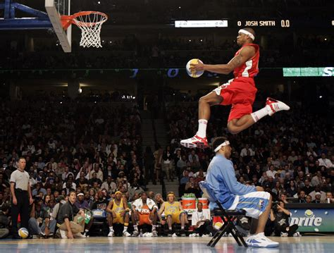 nba  star slam dunk contest    throw downs