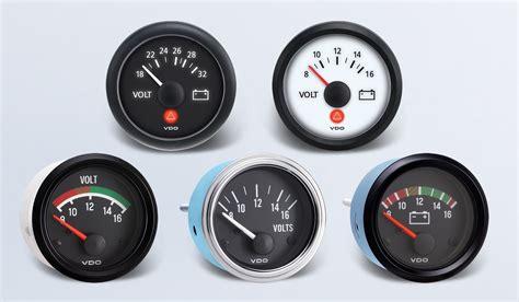 Vdo Marine Hour Meter Wiring Diagram by Voltmeter By Type Instruments Displays And Clusters