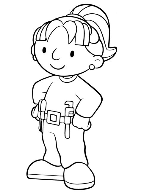 Bob The Builder Coloring Pages To Print  Coloring Home