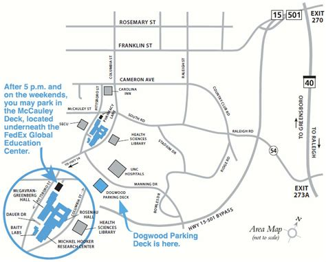 Directions To Cobb Parking Deck Unc by Maps And Directions Unc Gillings School Of Global