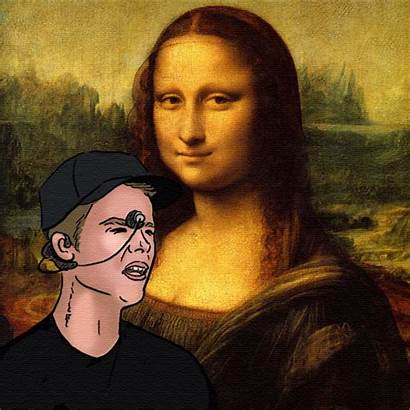 Justin Famous Paintings Mona Lisa Bieber Giphy