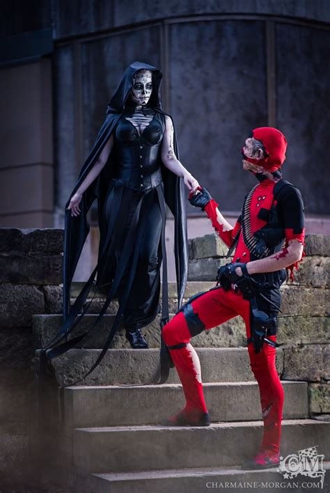 cosplay death deadpool images  pinterest