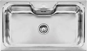 Evier Inox Grande Cuve : evier grande cuve inox 1 bac a encastrer rodi cuve ~ Premium-room.com Idées de Décoration