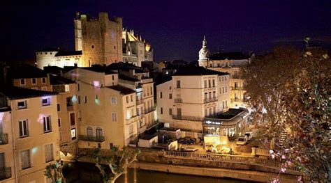 Schow And Nerbonne by Narbonne Et Ses Tresors Narbonne Ville Cathedrale Nuit