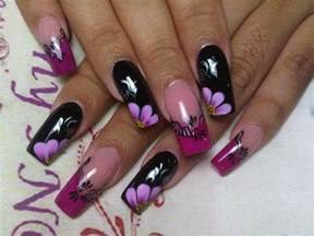 Latest beautiful french nails art design nail and