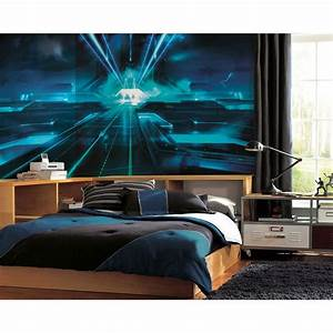Tron Legacy Giant Prepasted Wallpaper Accent Mural