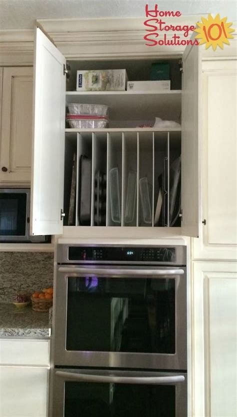 c kitchen storage bakeware organizer storage ideas bakeware divider and 1966