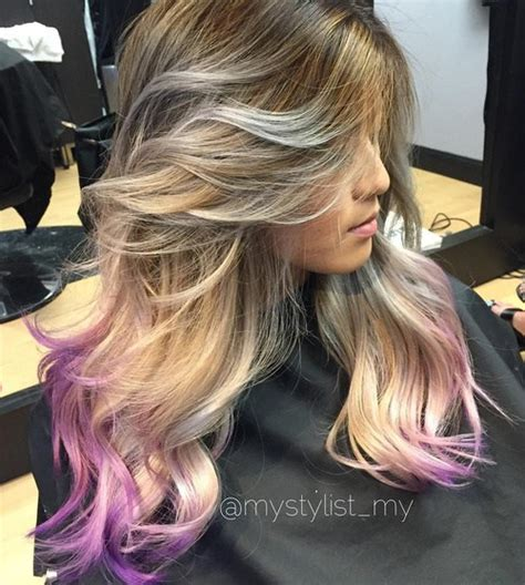 amazing purple ombre  lavender ombre hairstyles