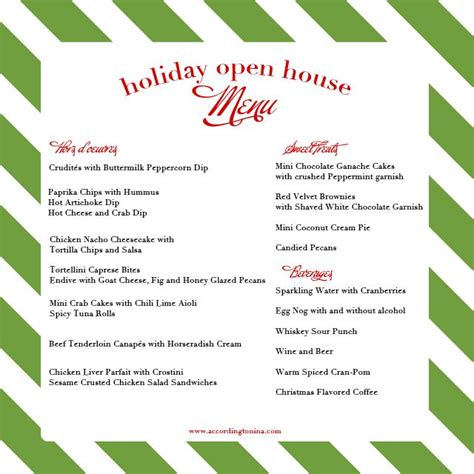 casual christmas eve buffet menu best 25 open house ideas on coco bar chocolate bars and