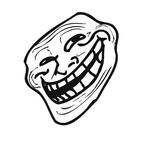 Troll Face Meme Mask - trollface mask free printable papercraft templates