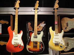 A trio of beauties. The Fender Andy Summers Tele, Yngwie ...