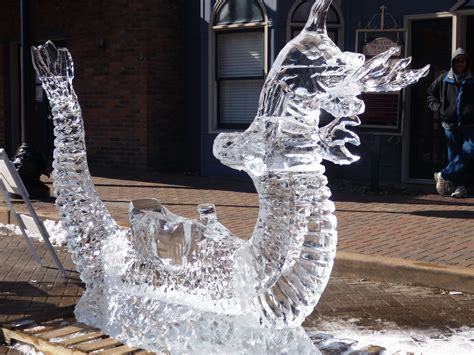 ice sculptures     experience
