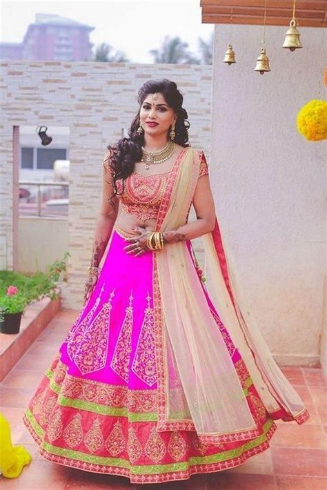 Best hairstyles to try with traditional lehenga choli