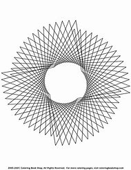 Geometric Pattern Coloring Pages