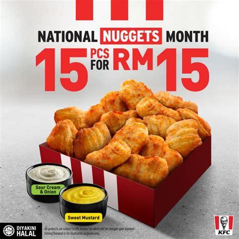 kfc national nuggets month  pcs  kfc nuggets