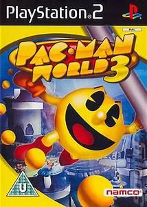 Video Interviews Covers Box Art Pac Man World 3 Ps2 1 Of 2