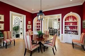 beautiful salle a manger rouge et noir contemporary With salle À manger contemporaineavec chaise beige salle a manger