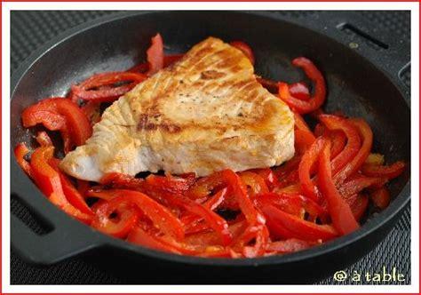 cuisiner steak de thon recette n 020 steak de thon aux poivrons balades epicuriennes
