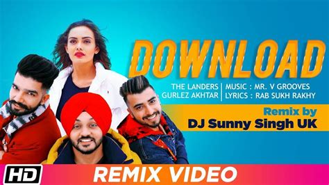 latest punjabi song remix  sung   landers